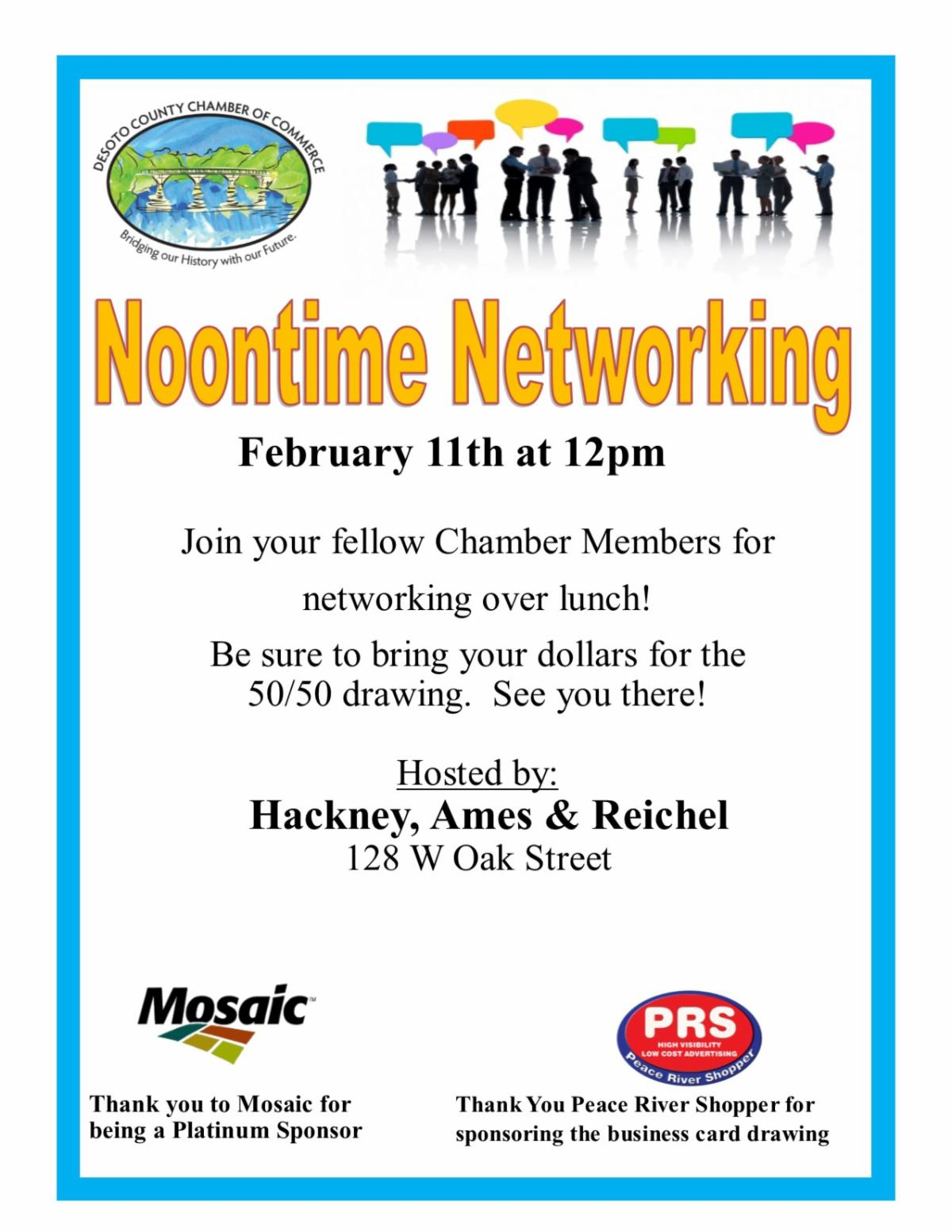 Noontime Networking February 2021