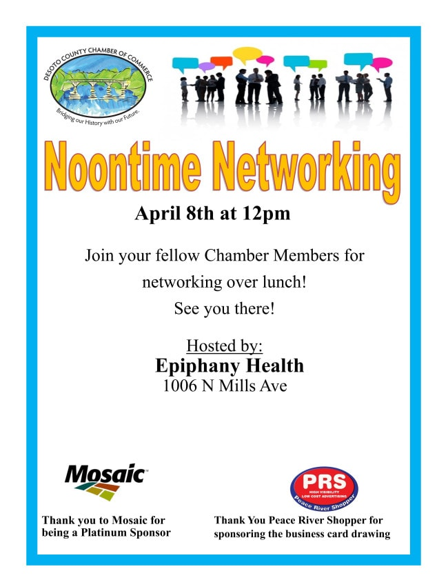 Noontime Networking April 2021
